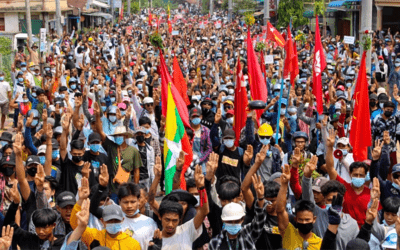 Alert: Military junta bombs Salween Peace Park in Indigenous Karen territory after coup d'état in Burma/Myanmar